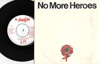 "THE STRANGLERS - NO MORE HEROES - 7"" 45 VINYL RECORD w PICT SLV - 1977"