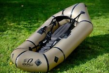 Kokopelli Nirvana Self-Bailing Packraft with TiZip & Thigh Straps