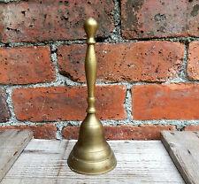 Vintage Brass Hand Bell - Counter Reception Desk - Mid Century