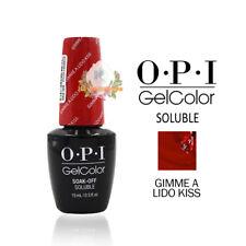 OPI Gel Color Soak Off SOLUBLE Nail Polish - V30 GIMME A LIDO KISS