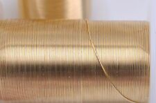 Gold Craft Wire, Tarnish Resistant Craft Wire, wire wrapping, 18 gauge, wir0031