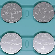 4 PC ENERGIZER CR2025 WATCH BATTERIES 3V LITHIUM CR 2025 DL2025 BR2025