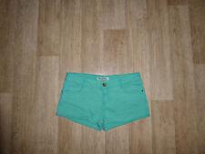 ZARA TRF Jeans Shorts Hot Pants Hüftig Grün Gr.40 **w.NEU**
