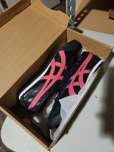 Women's Onitsuka Tiger HL474 0919 Black/Hot Pink Shoes
