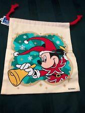 Tokyo Disneyland Christmas 1998 Drawstring Bag