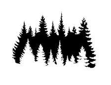 high detail airbrush stencil TREES STENCIL   FREE UK POSTAGE