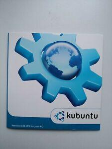 Original Kubuntu 6.06 LTS PC Linux Install CD