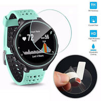 Round Universal Clear Smart Watch Tempered Glass Screen Protector Film Best Gift