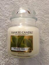 Yankee candle 'White Tea' medium jar