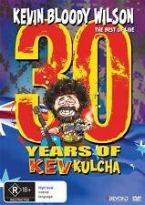 Kevin Bloody Wilson - 30 Years Of Kev Kulcha (DVD, 2015) LIKE NEW REGION 4