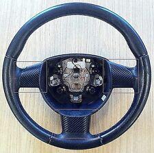 Ford Focus MK2 radio del volante Trim Kit-Negro Nuevo Kit De Estilo Fibra De Carbono -