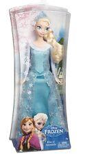 "Disney Frozen Sparkle Elsa of Arendelle Doll 12"" Y9960 Glitter Authentic 2013"