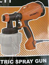 REXBETI Rex004 Paint Sprayer, 500 Watt High Power HVLP Electric spray gun