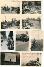 L260 Infanterie-Regiment 35 Einmarsch Frankreich Grenze combat Einsatz 15xFoto