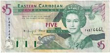 More details for 1993 | st. lucia elizabeth ii 5 dollars banknote | banknotes | km coins
