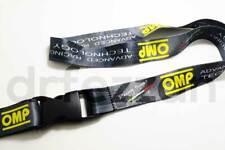 NEW OMP Lanyard Key Chain JDM Racing Steering Wheel Nardi Deep NRG Quick Release
