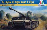 Italeri 1:35 Tiger I Ausf. E/H1 Plastic Model Kit 286