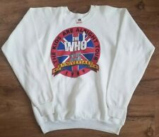 The Who Vintage 1989 The Kids Are Alright Tour Concert Sweatshirt White Sz Xl