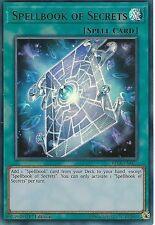 YU-GI-OH CARD: SPELLBOOK OF SECRETS - ULTRA RARE - BLLR-EN075 - 1st EDITION