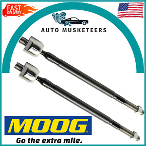 Moog EV800513 New Set Of 2 Inner Tie Rod Ends Pair for Subaru Forester Legacy