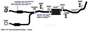 Exhaust Pipe AP Exhaust 38810