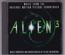 ALIEN 3 - ORIGINAL SOUNDTRACK SCORE CD ALBUM OST ELLIOT GOLDENTHAL © 1992 MCA
