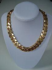 ANNA VALERIE ADOLF Halskette Glieder Statement Goldkette 18 Kt vergoldet Blogger
