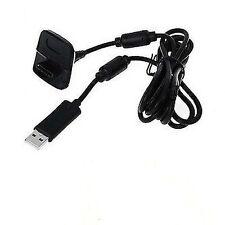 Cavo Ricarica 2in1 Controller Gamepad Wireless Nero Per Xbox 360 hsb