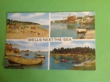 VINTAGE POSTCARD WELLS-NEXT-TO-THE-SEA NORFOLK
