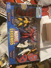 Toybiz Marvel Legends 3 Box Set Included Sinister 6, X-Men Legends And Urban