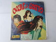 album panini OCCHI DI GATTO  - 1986 -  incompleto mancano 5 figurine su 240 -