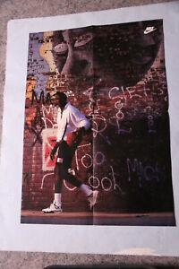 "1989 - WHEATIES - MICHAEL JORDAN - POSTER 16"" x 23"" - NIKE"