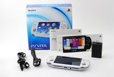 Sony PS Vita PCH-1000 ZA02 Crystal White Wifi Model with Box from Japan Exc+++