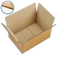 Carton Emballage Simple Cannelure CAISSE AMERICAINE 23 x 19 x 12 cm !!
