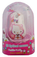 MOUSE 3D OPTICAL HELLO KITTY