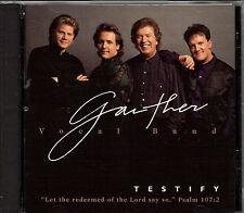 "GAITHER VOCAL BAND....""TESTIFY""......OOP GOSPEL CD"