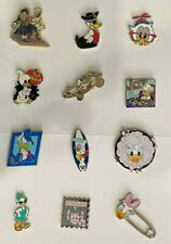 12 Walt Disney Trading Pins - Duck - Donald, Daisy, Scrooge McDuck