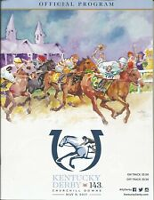 2017 - 143rd Kentucky Derby program in MINT Condition - ALWAYS DREAMING