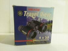 Meade Travel View Binoculars 4x30 compact in box
