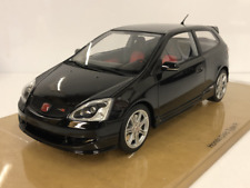 Honda Civic Type R ep3 Black 1:18 Resin Model Limited Edition DNA