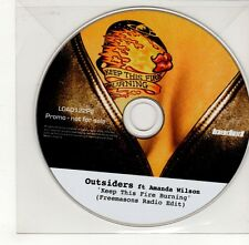 (GO310) Outsiders ft Amanda Wilson, Keep This Fire Burning - DJ CD