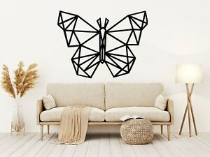 Geometric Butterfly Wall Window Art Stickers  Removable Home Decoration Quotes M