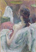 Henri de Toulouse-Lautrec: The Model Resting. Art Print/Poster (4146)