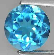 Cubic Zirconia Bright Swiss Blue Round AAA Rated CZ Loose Stones (1mm - 16.5mm)