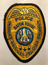 New listing Obsolete Baton Rouge Louisiana Police Patch