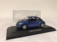 Minichamps 1:43 VW New Beetle Geschenk Modellauto Modelcar Scale Model Sammeln
