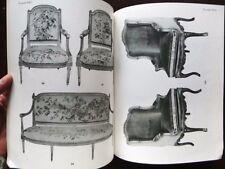 Catalogue de vente Mobilier XVIIIe siecle Orfevrerie Tableau ancien moderne 1956