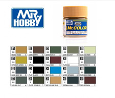 Mr. Hobby Flat Base Rough Lacquer C351~C385 Gunze GSI Color Model Kit Paint 10ml