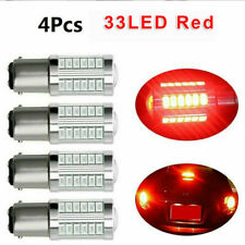 4x 1157 5630 33SMD LED Canbus Brake Car Tail Rear Stop Signal Light Bulb Red #D