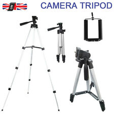 Camera Phone Tripod Stand Telescopic Holder For iPhone Sony Canon DSLR SLR UK